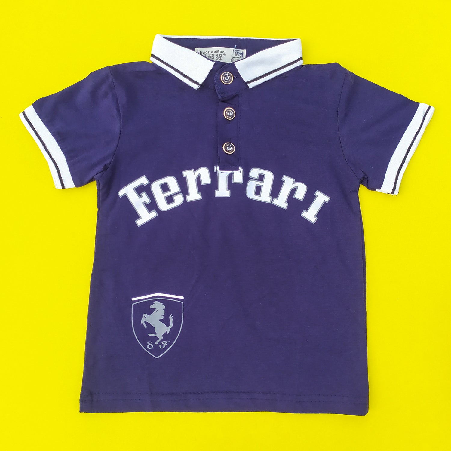 Ferrari Navy Imported Polo