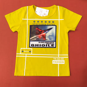 Jet Imported Yellow Tee