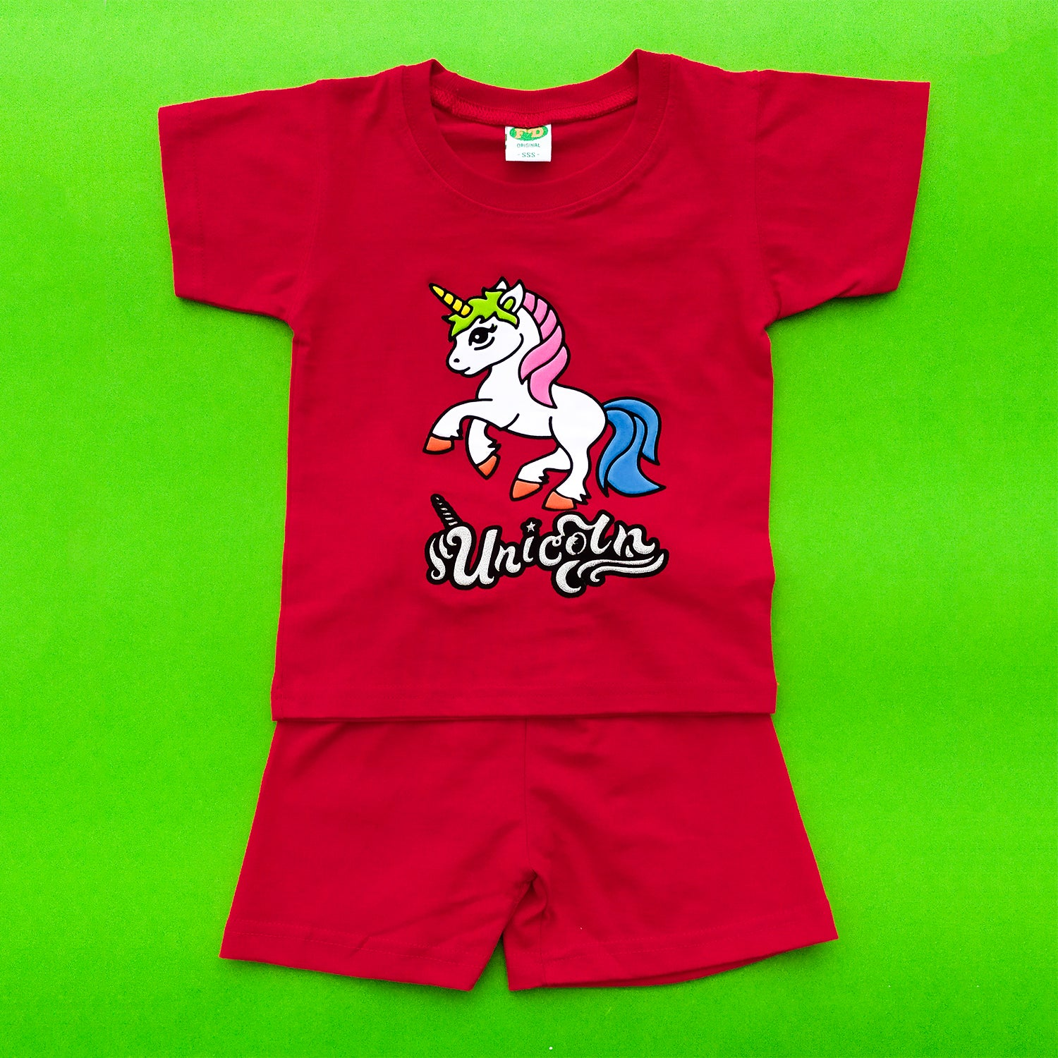 Unicorn Red Imported Twinset