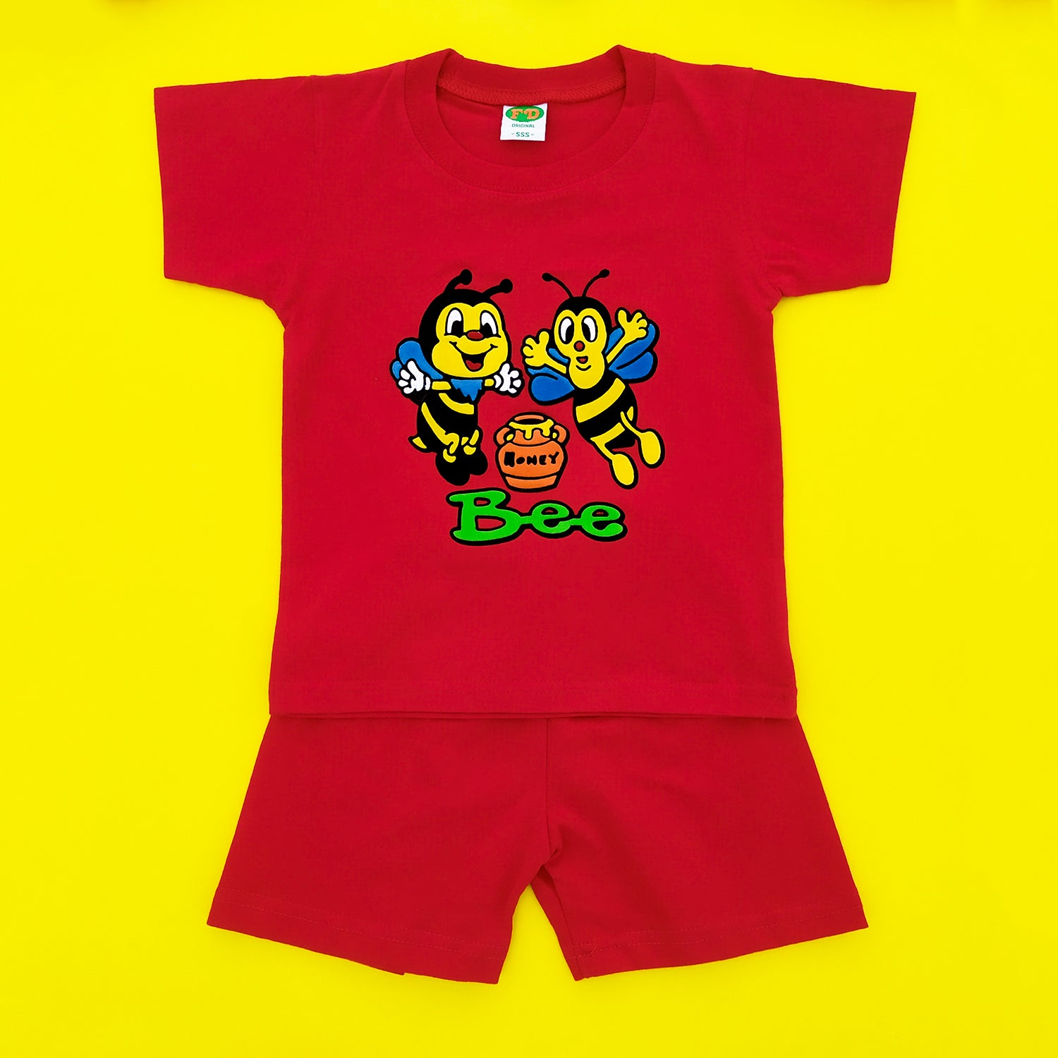 Bee Red Imported Twinset