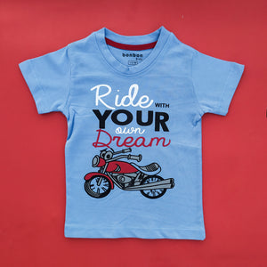 Ride Your Dream Blue Tee
