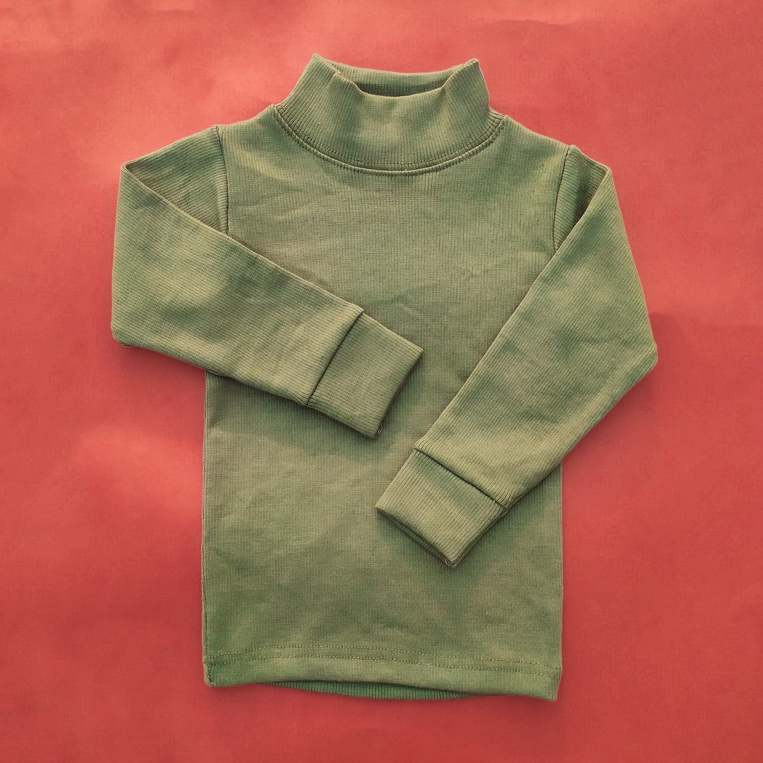 Olive Green High Neck