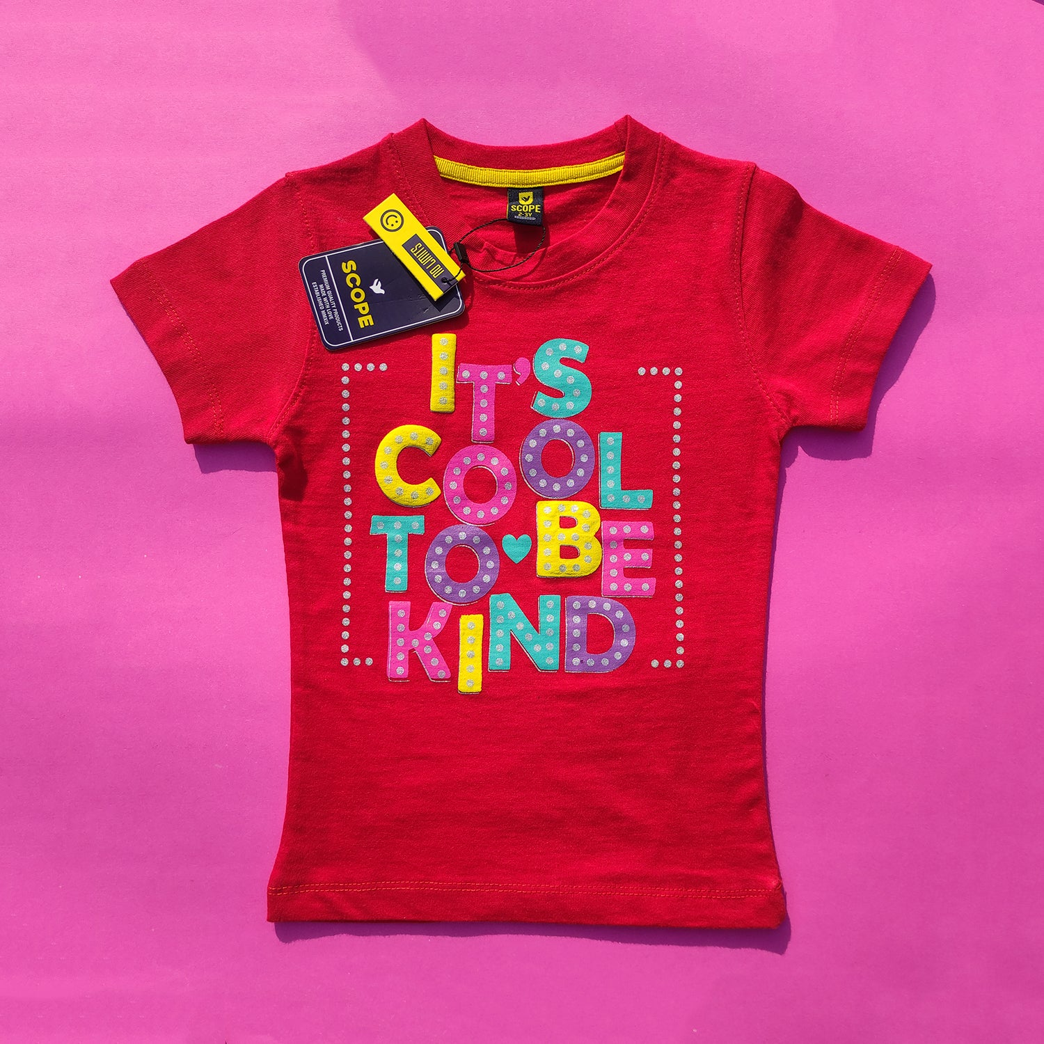 It's Cool To Be Kind Red Top