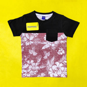 Jungle-Block Punch Tee