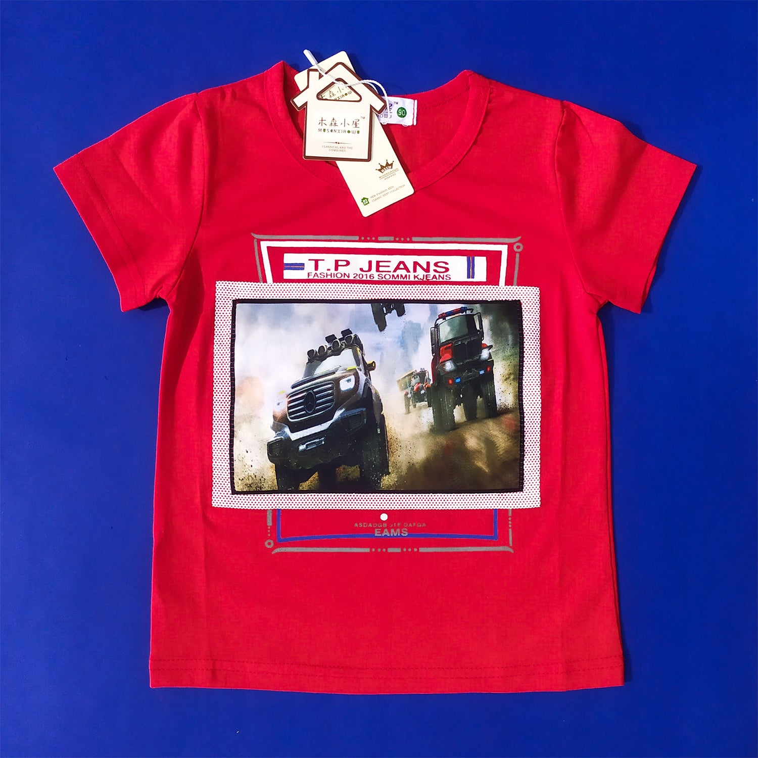 Jeep Red Imported Tee