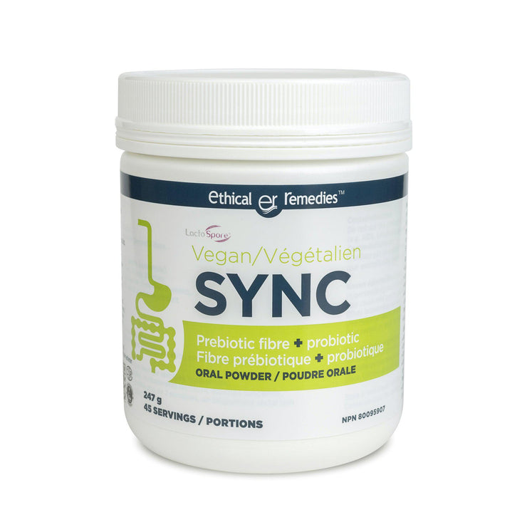 Sync Oral powder- Prebiotic fibre + Probiotic Supplement to improve Digestive health