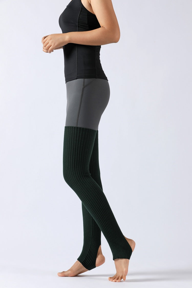 Over-The-Knee Ribbed Leg Warmers