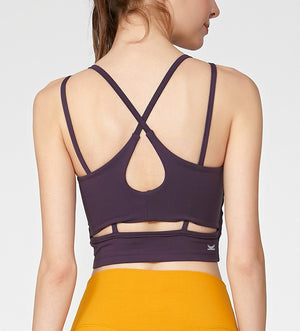 Open image in slideshow, Maia Cut Out Back Bra-Top
