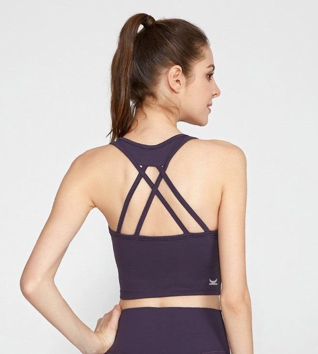 Reina Strappy Elegant Back Bra-Top