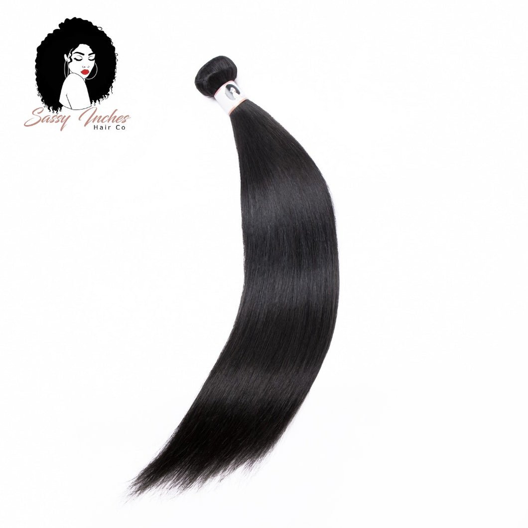 100% Virgin Brazilian Straight Human Hair Bundles