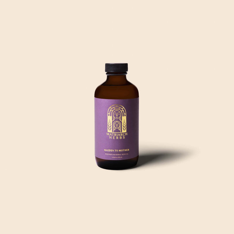 Maiden to Mother Postpartum Herbal Body Oil