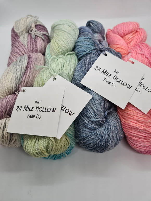 24 Mile Hollow Yarn Co  Merino Hemp