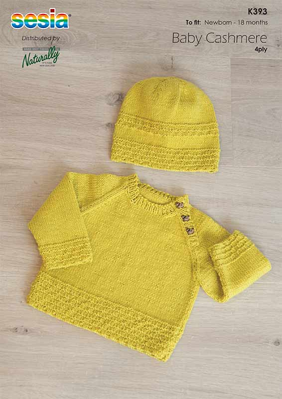 Sesia Baby Cashmere Pattern K393