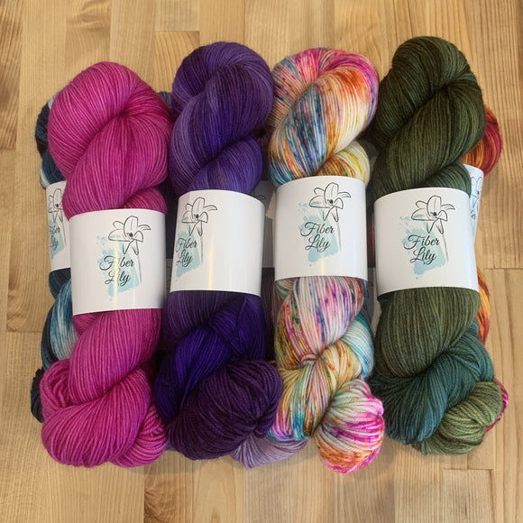 Fiber Lily Super Soft Sock 4 Ply