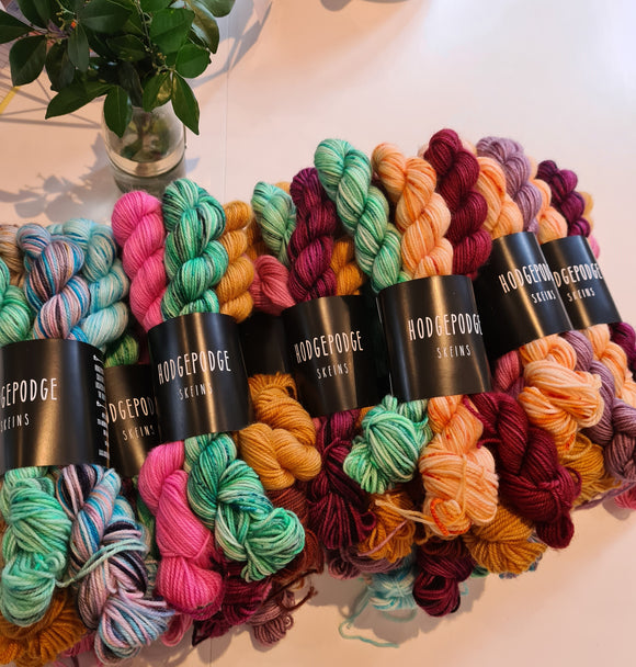 Hodgepodge Skeins Mini Skein Bundles