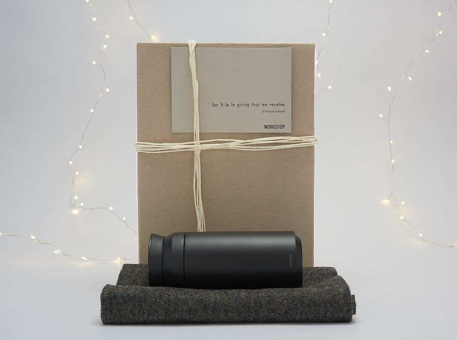 Winter Warmer Gift Box - Charcoal