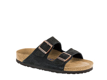 Arizona Mocha Suede Sandals