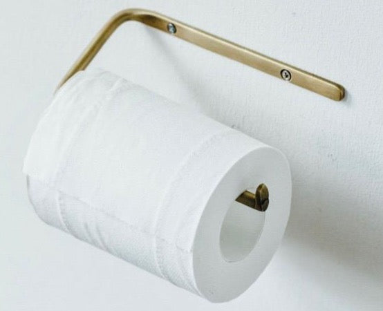 Brass Toilet Roll Holder