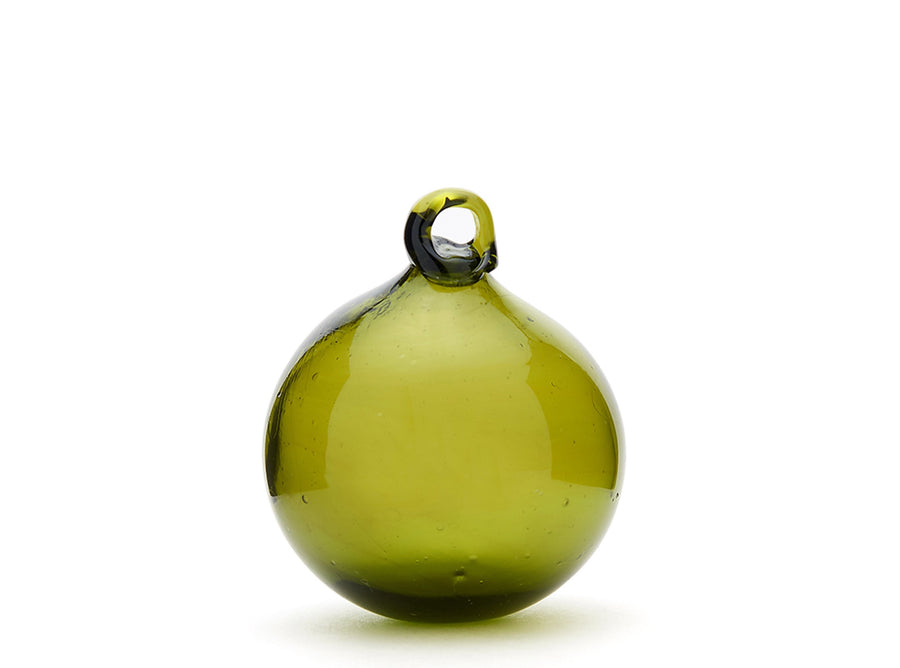 Green Glass Bauble