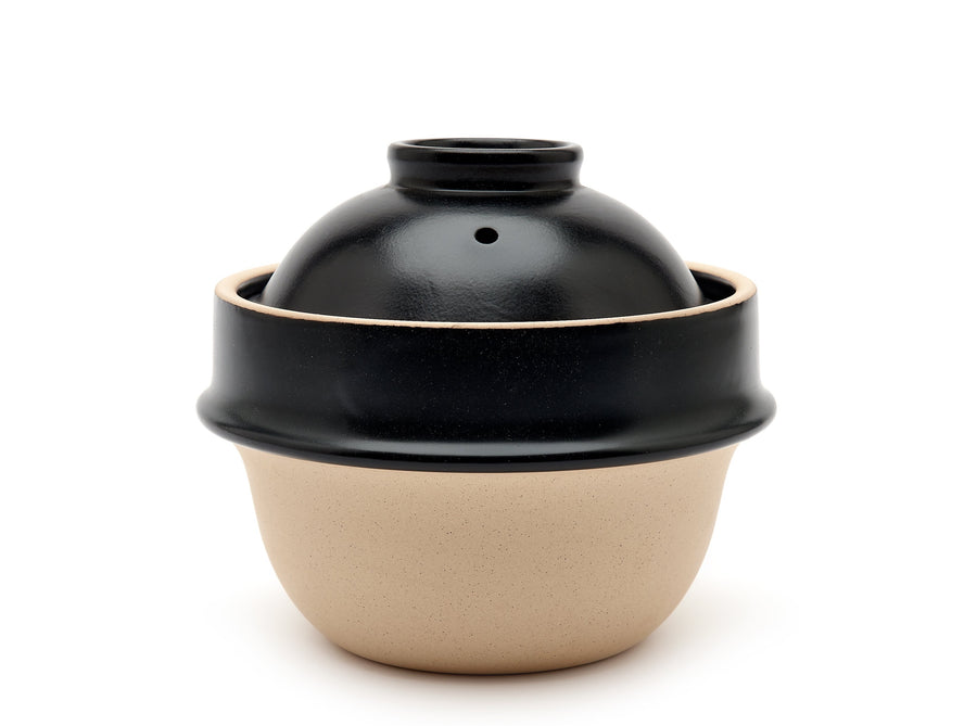 Black Clay Rice Cooker