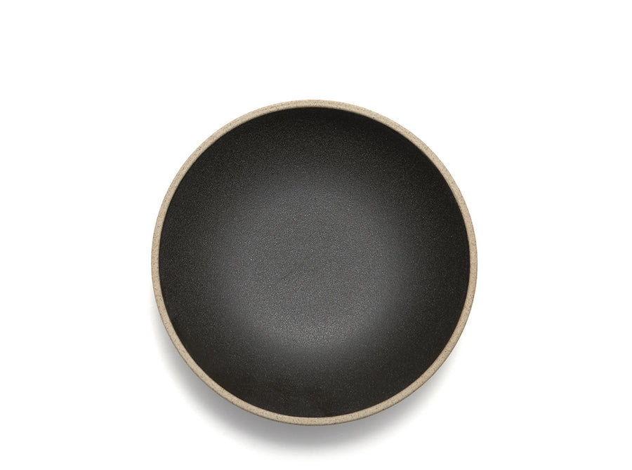 Black Porcelain Round Bowl
