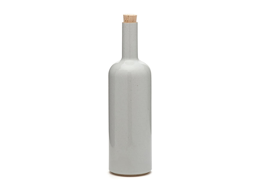 Grey Porcelain Bottle