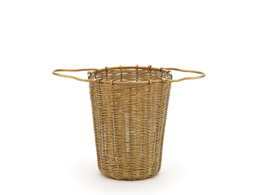 Brass Tea Basket