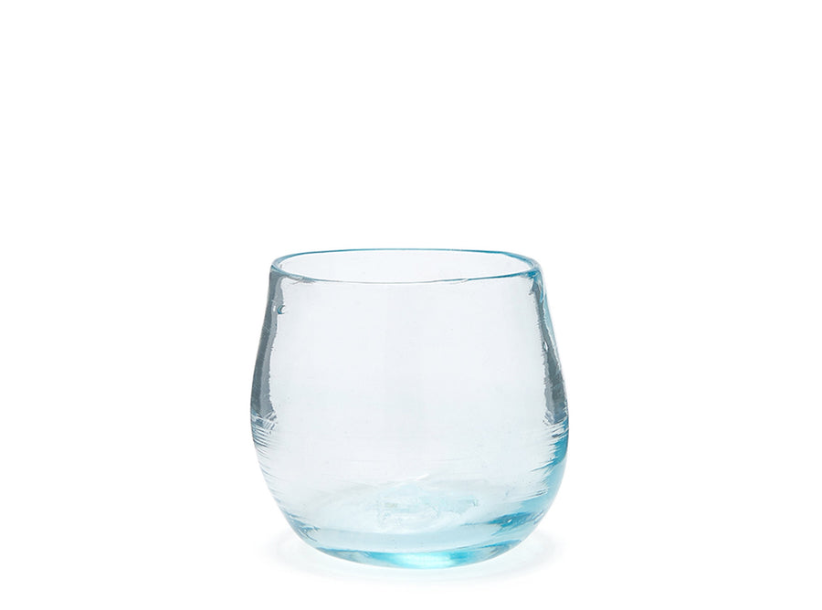 Recycled Glass Goblet