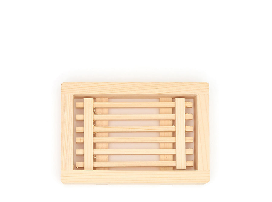 Hinoki Slatted Soap Dish
