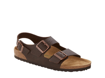 Milano Brown Vegan Sandals
