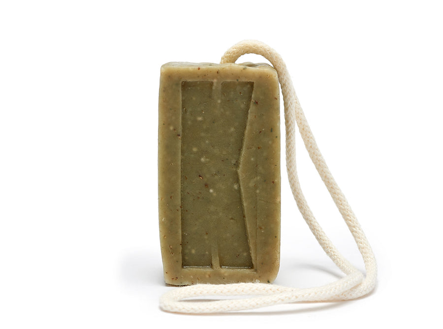 Morning Glory Soap On Rope