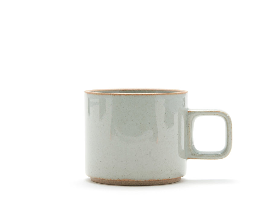 Hasami Porcelain Clear Grey Coffee Mug