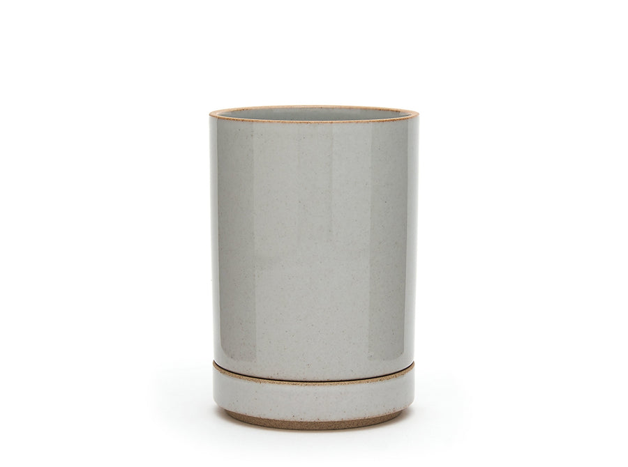 Hasami Porcelain Clear Grey Planter 8.5cm