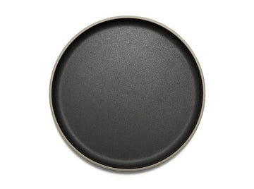Black Porcelain Plate