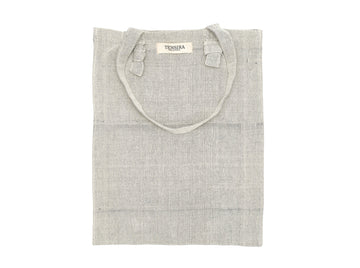 Grey Cotton Tote