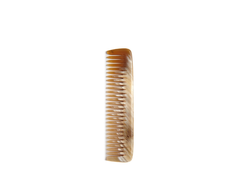 Horn Wide Tooth Comb