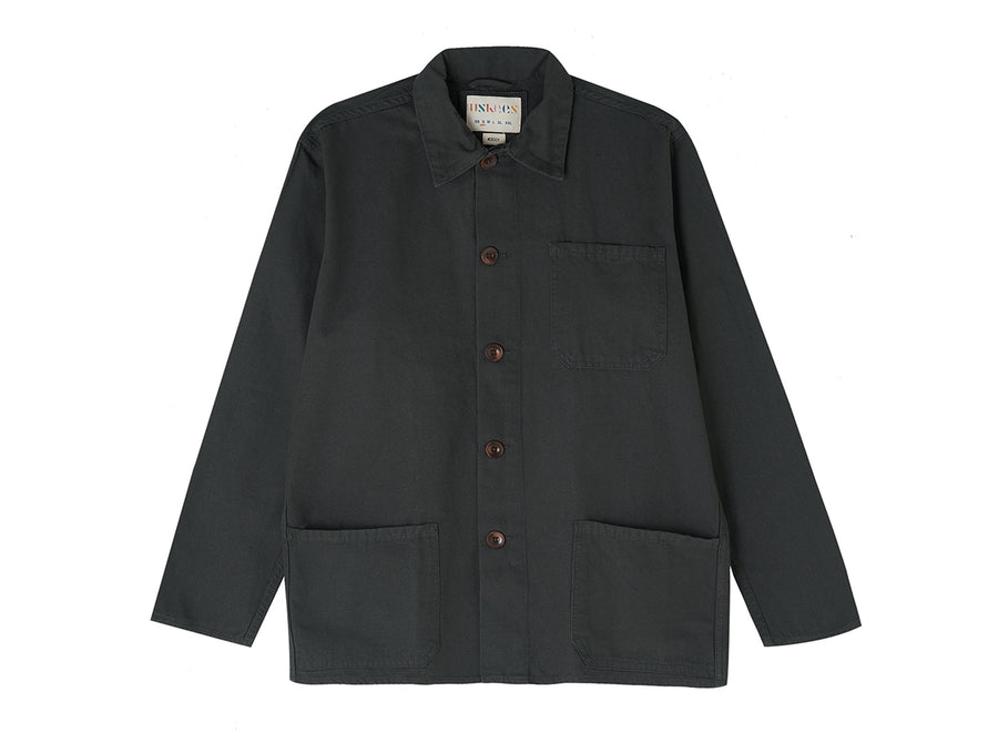 Faded Black Overshirt