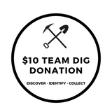 Donate $10 to any Excavating Adventures Team Dig