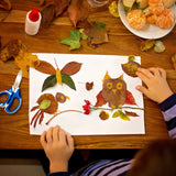 Use your finds from your awesome autumn ice excavation to create fun arts and crafts projects.