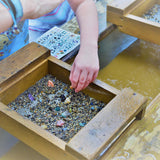 Gem mining is a fun activity that you can now do in your backyard out of a bucket