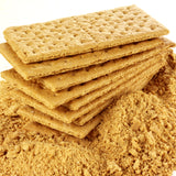 "Crush graham crackers into crumbs to make the ""sand"" for your chocolate candy rock quarry edible excavation."