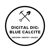 Digital Dig Blue Calcite