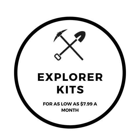 Excavating Adventures Extreme Kits for as low as $7.99 a month