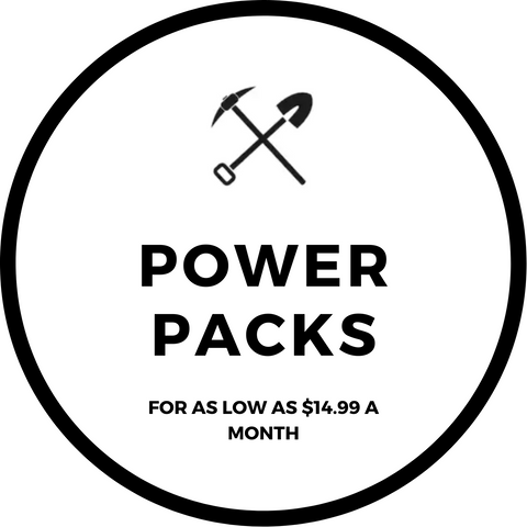 Excavating Adventures Power Packs Monthly Subscriptions