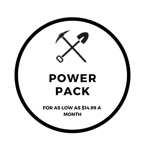 Excavating Adventures Power Packs Subscriptions