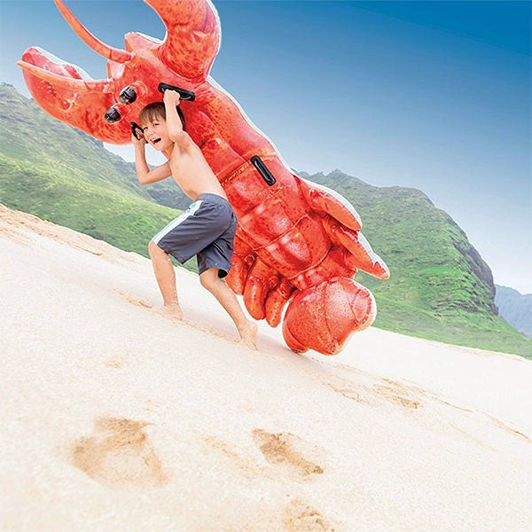 Inflatable Lobster Airbed Intex (213 X 137 cm)