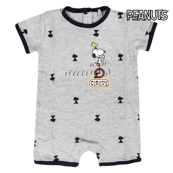 Baby's Short-sleeved Romper Suit Snoopy 74575