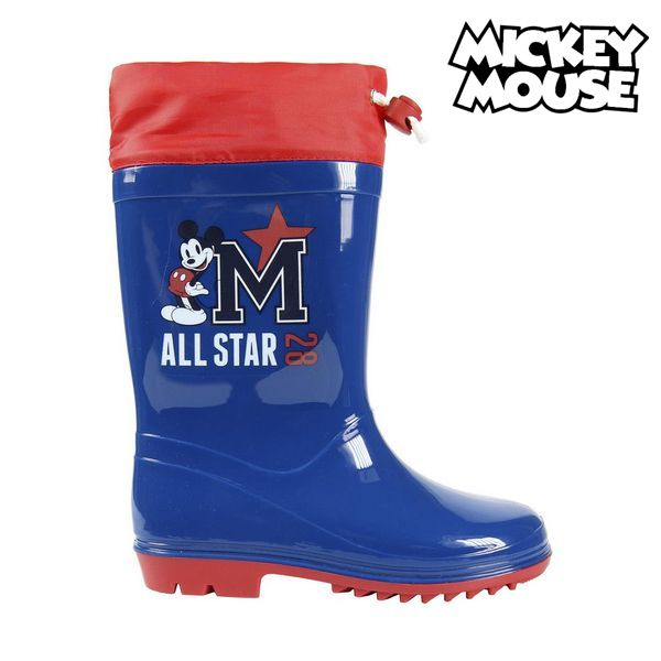 Children's Water Boots Mickey Mouse Navy blue