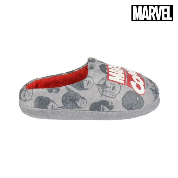 House Slippers Marvel Grey