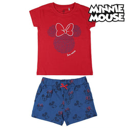 Set of clothes Minnie Mouse Red Blue